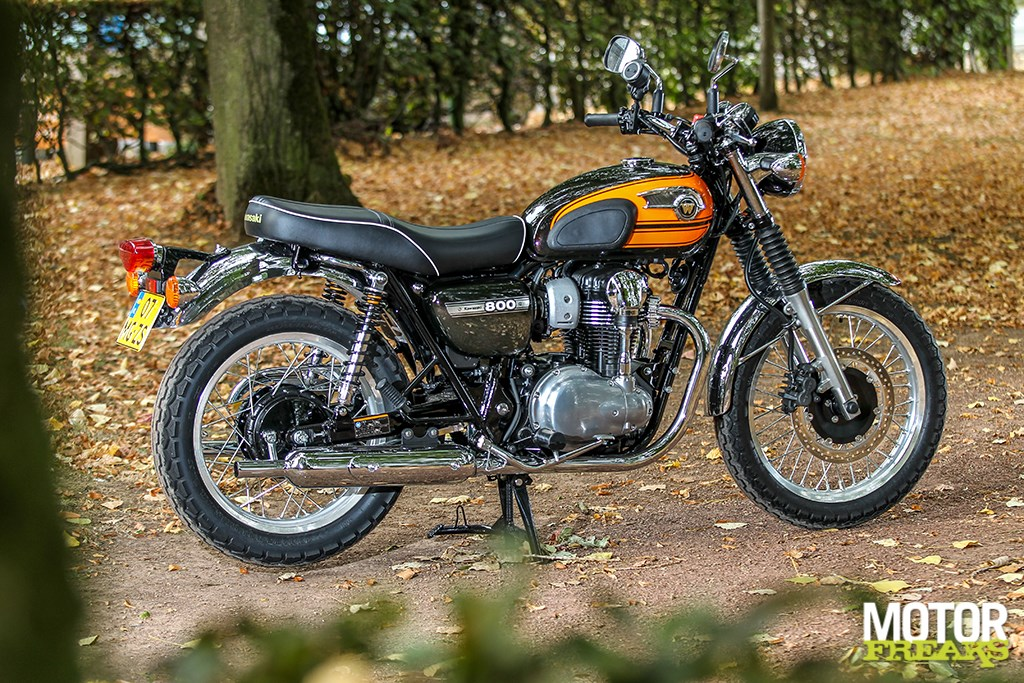 Merk Model Kawasaki W800 Final Edition