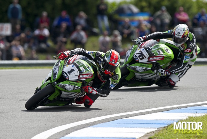 Tom Sykes Loris Baz Donington
