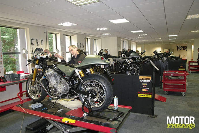 Norton factory