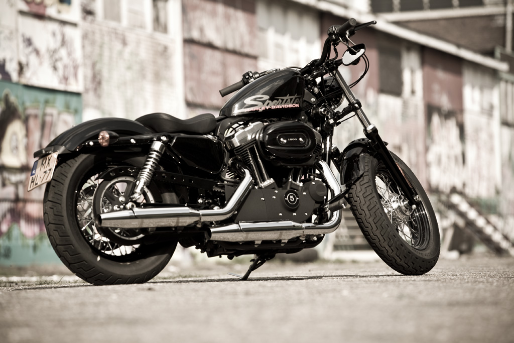 Motorfreaks Test Harley Davidson Forty Eight Rebel Without A Cause