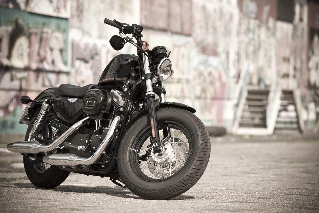 Motorfreaks Test Harley Davidson Forty Eight James Dean