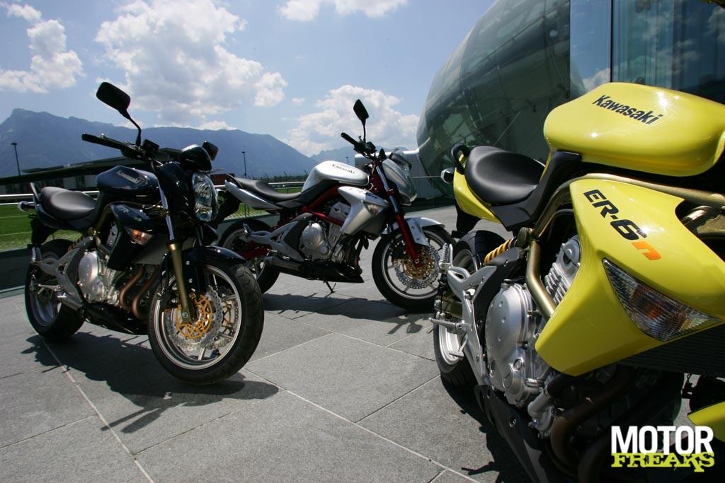 Motorfreaks Introductie Kawasaki Er 6n Technische Gegevens