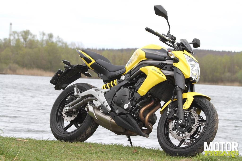 Motorfreaks Test Kawasaki Er 6n Gaan Met Die Erm