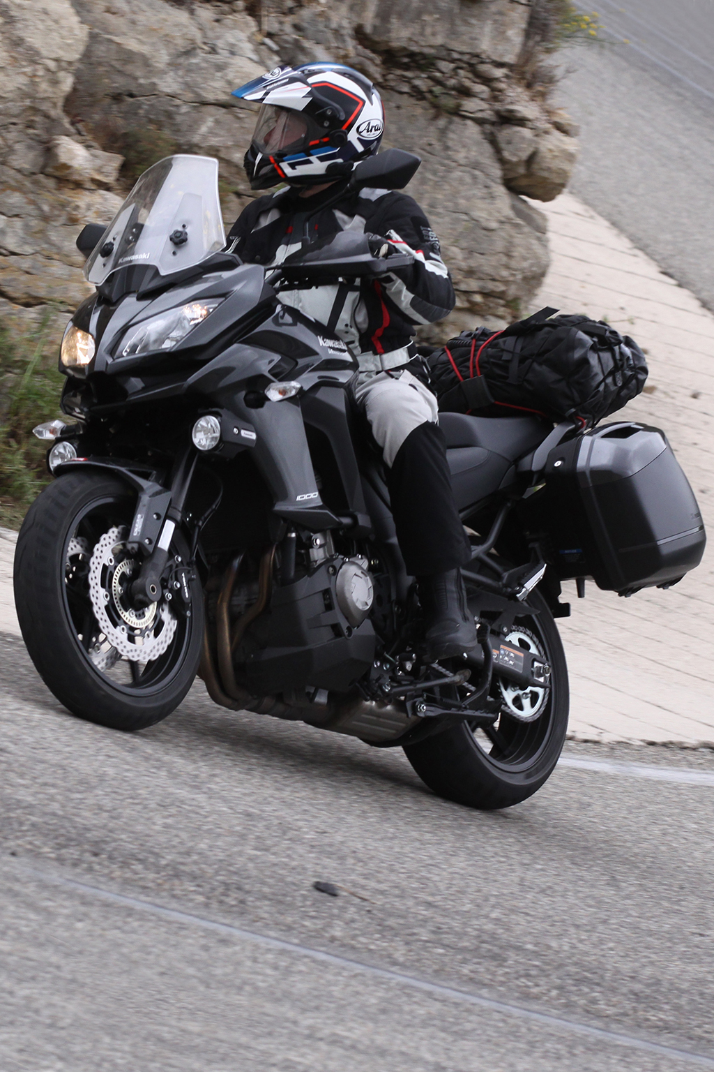 motorfreaks toerstest kawasaki versys 1000 tourer uitdaging. Black Bedroom Furniture Sets. Home Design Ideas